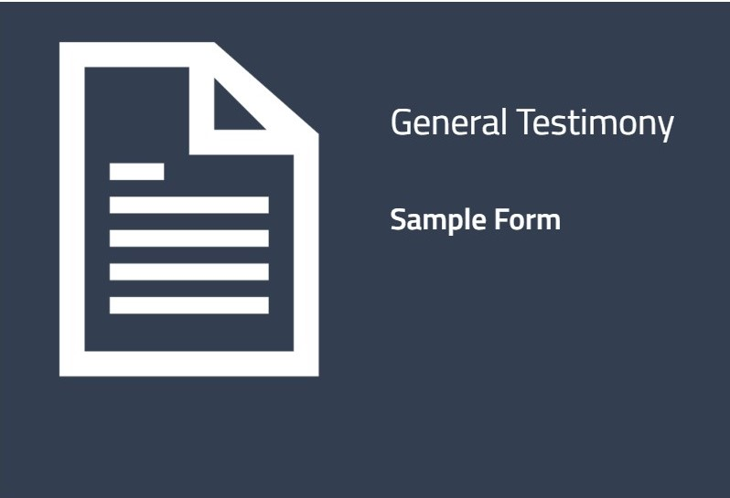 Sample Form with Instructions